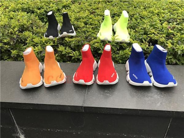 2020 formateur vitesse enfants chaussures de course Designerbalenciagaenfants garçons filles chaussures de sport de jeunes formateurs boot6f5d chaussettes sport tout-petits #
