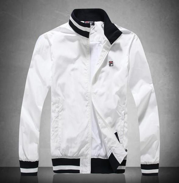 19ss Mens Jaqueta Outono Inverno Designer Jaqueta Blusão Casaco Zipper Brasão Marca de Moda Esporte Ao Ar Livre Rosto Plus Size Roupas Masculinas 122 #