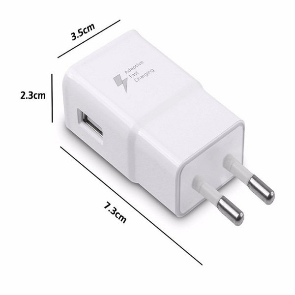Original Quality Real Fast Charging Travel Charger Full 2A EU & US Plug For Samsung S6 S8 S9 Note9 1:1 Quality Good PCB