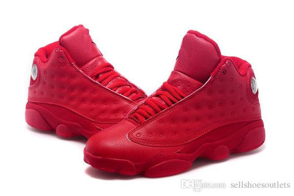 sale retailer ff2ed 9aa7b Men 13s XIII Basketball Leather Red Shoes Athletics Comfort Sport  Lightweight Tinker 13s He Got Game Phantom Sneaker Cheap Shoes For Men  Purple Shoes ...