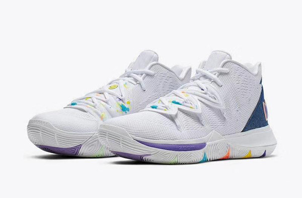 2019 Men Kyrie 5s Mamba Mentality Have a Nice Day Concepts x 5 Ikhet Chaussure Designer Sports Sneakers Kyrie