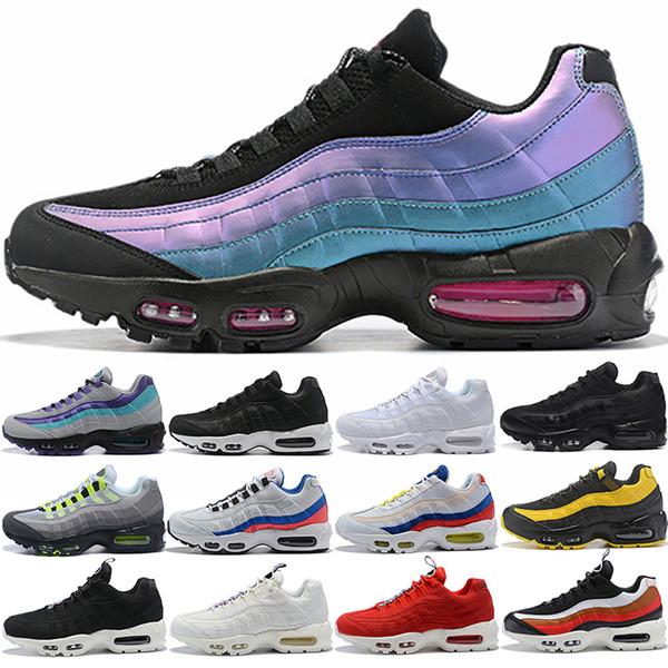 Nike Air max 95 Designer Hommes Femmes Chaussures de course SE OG Grape Néon TT Noir Rouge 95s Triple Blanc Pas Cher Chaussures De Sport Entraîneur Taille 5.5-12