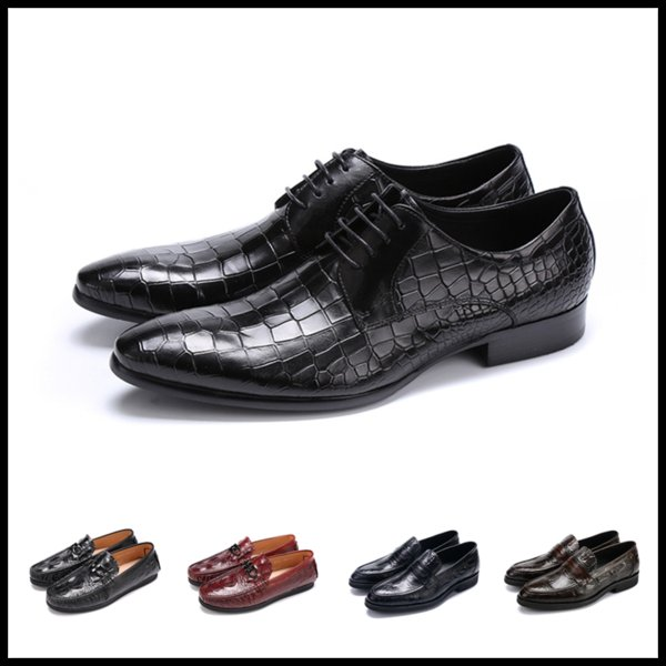 07dfab2bda7 18ss 2019 Free Shipping 22 Colour Hot Italy Mens Dress Shoes Boss Elevator Shoes  Men's Dual