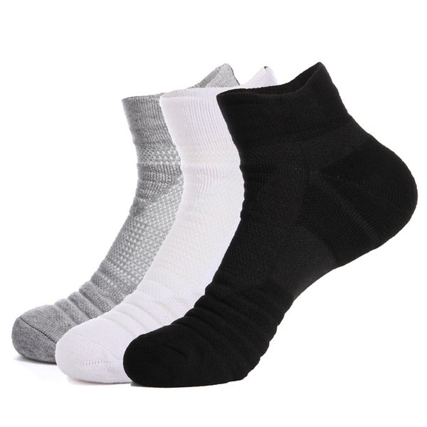 Promotion Outdoor Sports Basketball Socks Men Football Cycling Compression Socks Cotton Towel Bottom Non-slip Men's Socks