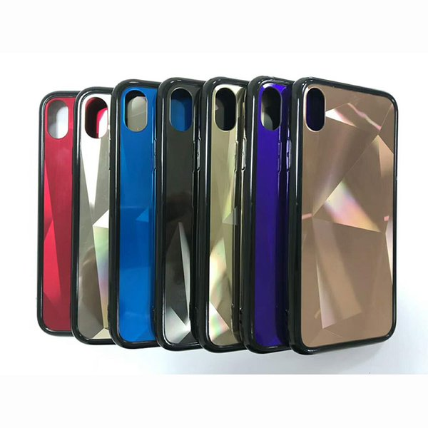 Bling luxury design case 360 degree full protective shell cellphone Defender rugged back cover for iphone 6 6s plus with opp bag