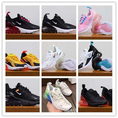 top popular 2019 Kids Athletic Shoes Children Shoes Wolf Grey Toddler Sport Sneakers for Boy Girl Toddler Chaussures Pour Enfant 2020