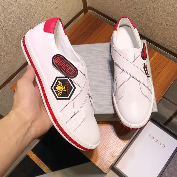Scarpe casual da uomo firmate di lusso in edizione limitata 2019d, scarpe sportive selvagge di alta gamma per uomo, confezione originale, dimensioni: 38-44