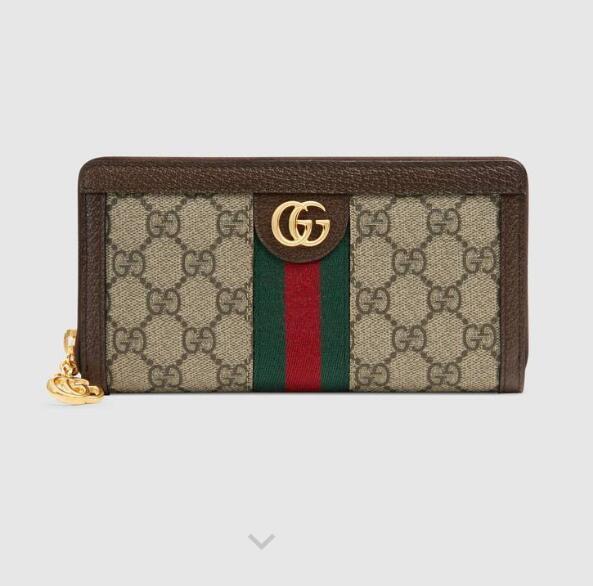 523154 Ophidia series full zip wallet WALLET CHAIN WALLETS PURSE Shoulder Bags Crossbody Bag Belt Bags Mini Bags Clutches Exotics