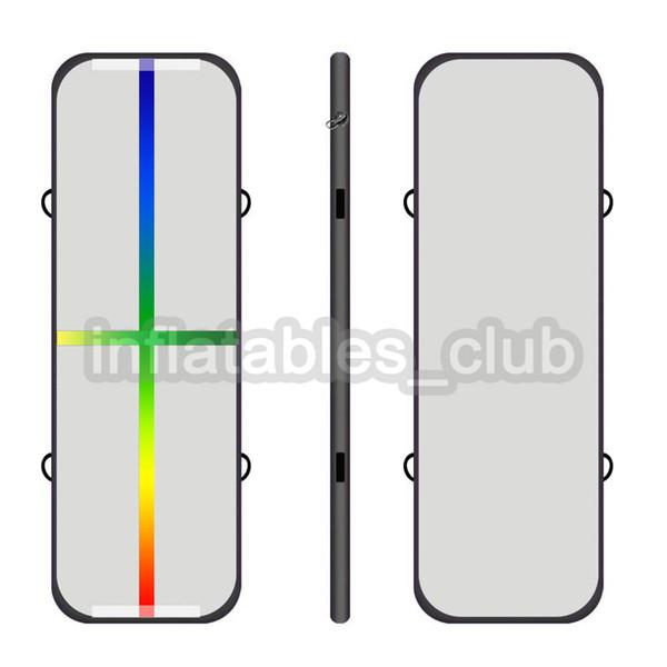 black rainbow line