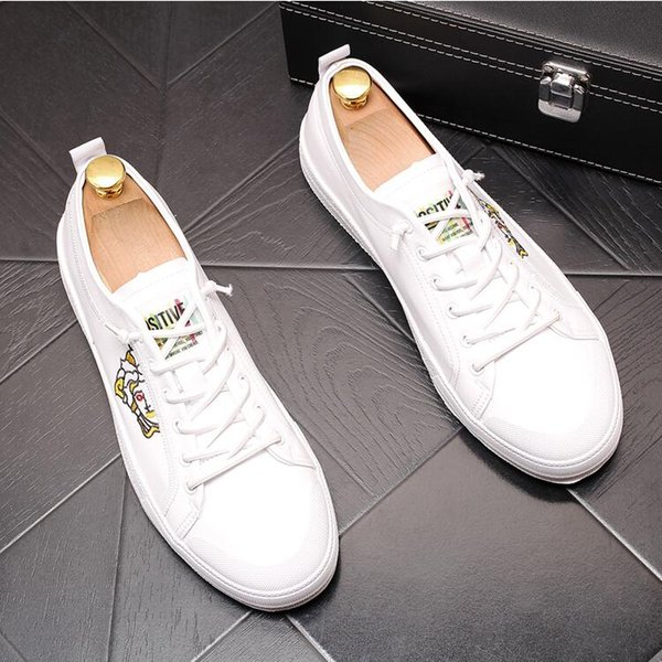 Italian fashion elegant designer oxford mens shoes leather men dress loafers man masculino Lace-up wedding formal shoes W419