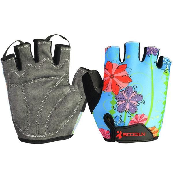 Cycling Gloves Half Finger Shockproof Breathable Outdoor MTB Road Bike Bicycle Sport Gloves Mitten for Children Men Women