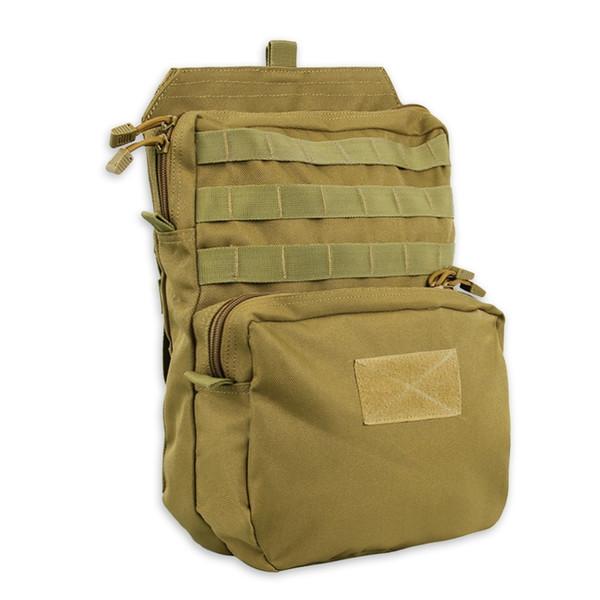 3L 1000D Tactical Molle Pack Senderismo Hidratación Bolsa de Primeros Auxilios Al Aire Libre Para Chaleco Bolsa de Agua Mochila Airsoft Militar Bolsas Impermeables # 108689