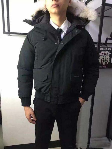 drop shipping nouvelles vestes à capuchon pour hommes de la marque Sports Outdoor avec la veste d'hiver chaude Warm Down Down XS-XXL