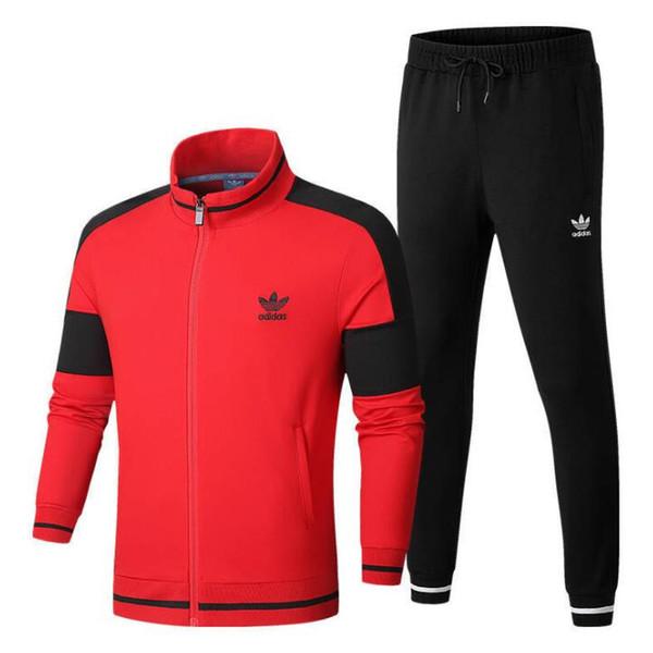Новый спортивный мужской женский спортивный костюм модный бренд спортивные костюмы спортивная одежда с буквами осень костюмы одежда L-4XL 2 цвета