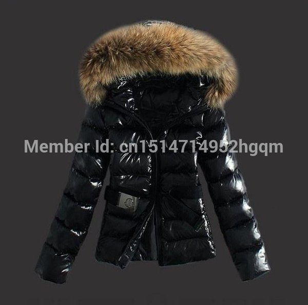 Women Winter Duck Down Jacket top quality Fashion Most Popular Lady Down Coat Ladies Down Parka Warm Outwear BLACK BROWN Free Shipping