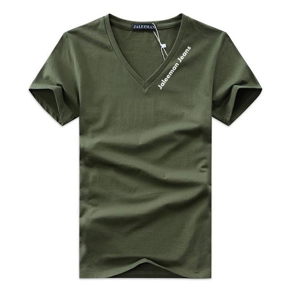 Oferta especial dos homens T-shirts Com Decote Em V Plus Size S-5xl T Shirt Dos Homens de Verão de Manga Curta Camisas de Marca Tee Man Clothes Camiseta