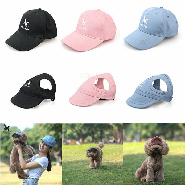 Letter Dog Hats S-XL Parent-Child Hat set Spring Summer Style Cute Pet Hat Outdoor Dog Baseball Cap Apparel Accessories AAA2266