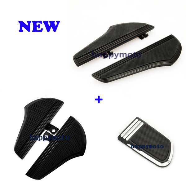 Motorcycle parts Rider Driver Footboards Floorboard For Harley Touring Street Glide FLHX FLHR Dyna Softail Foot Peg