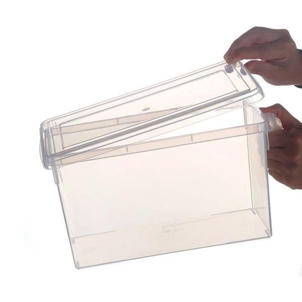 투명한 저장 상자
