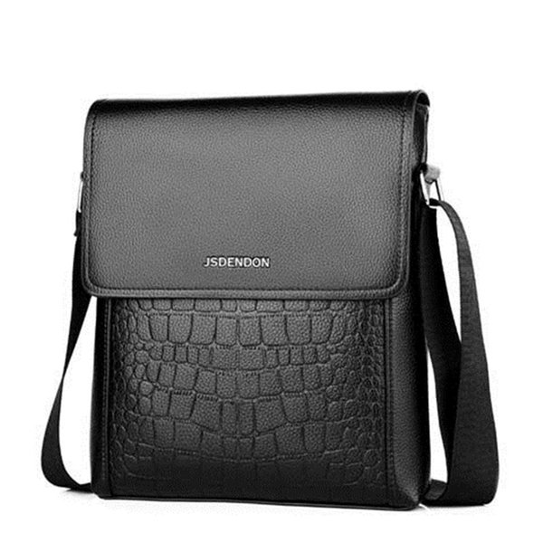 Fashion PU Leather Men Designer High Quality Men Handbags Casual Office Messenger Bags Small Flap man Crossbody for Shoulder Bag