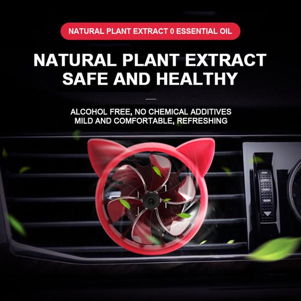 Car Deodorante Air Fan odore in Car Styling Vent Profumo Parfum Profumo aromatizzanti Auto accessori delle decorazioni
