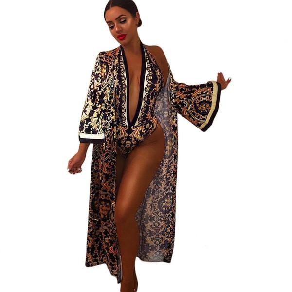 Abbigliamento da donna Tute Sexy 2 pezzi Set con scollo a V Tuta da lavoro Active Wear Long Maxi 2 pezzi Set da donna a due pezzi