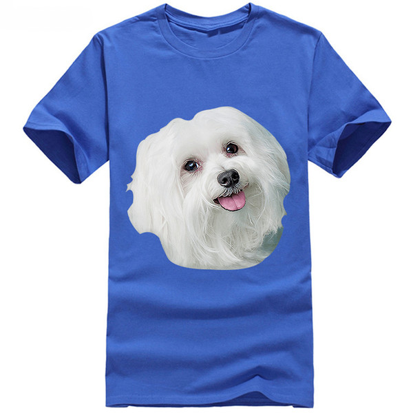 Maltese Dog T-Shirt Jacket Croatia Leather Tshirt Denim Clothes Camiseta T Shirt 2019 t shirt for man