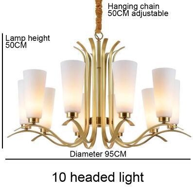 Luz de 10 cabezas