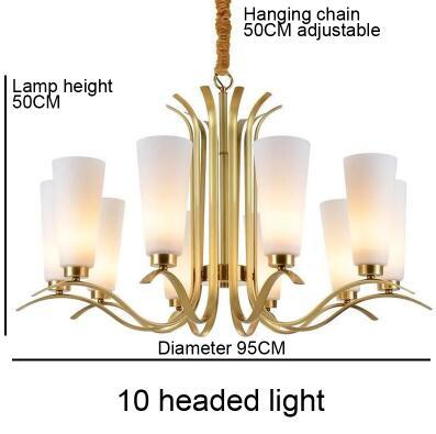 10 led di luce
