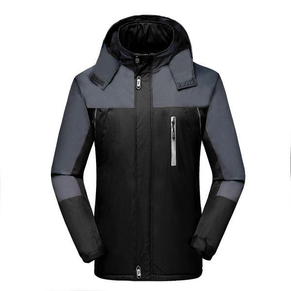 Winter Jacket Men Velvet Warm Windproof Parka Mens Waterproof Outdoorsports Military Hooded Jackets Jaqueta Masculina Coats