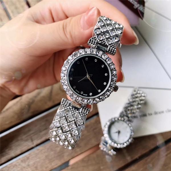 2019 New Brand Bracelet Watches Women Luxury Crystal Dress Wristwatches Clock Women's Fashion Casual Quartz Watch reloj mujer