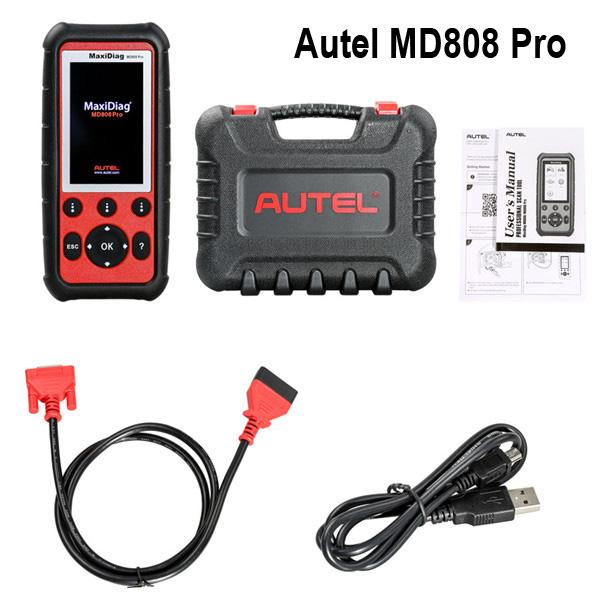 Autel MaxiDiag MD808 PRO Diagnostic Tool Full Systems With Special Function For EPB/ Oil Reset/ DPF/SAS And BMS Update Online in Stock