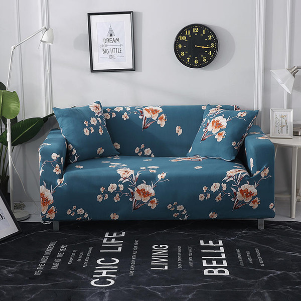 Excellent Elastic Stretch Geometic Printing Sectional Sofa Cover Protective Slipcovers All Inclusive Couch Case Cover Sofa Bed Chair Covers To Hire Slipcovers Pdpeps Interior Chair Design Pdpepsorg