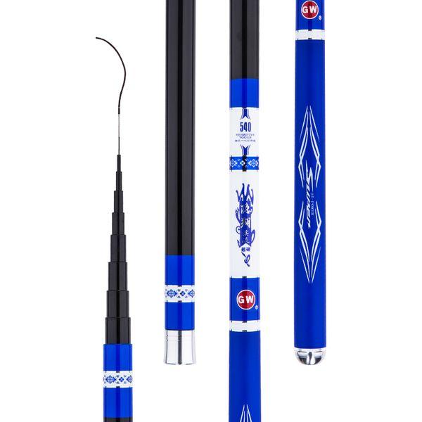 Carbon Stream Fishing Olta Carp Fishing Rod Ultra-light Ultra-hard Pole Short Section Canne a Peche Tackle Pesca