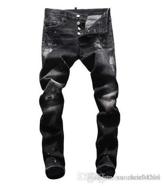Été 2019 jeans hommes en gros, la production de denim européenne de bon accueil de vêtements pour hommes de qualité à la taille 28-38: 44-54 .045