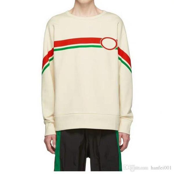 19SS Chateau Marmont Hollywood Print Sweatshirt Mode Herbst Designer Luxuxmann Frauen-Drucken Geometrie Sweatshirt HFHLWY003