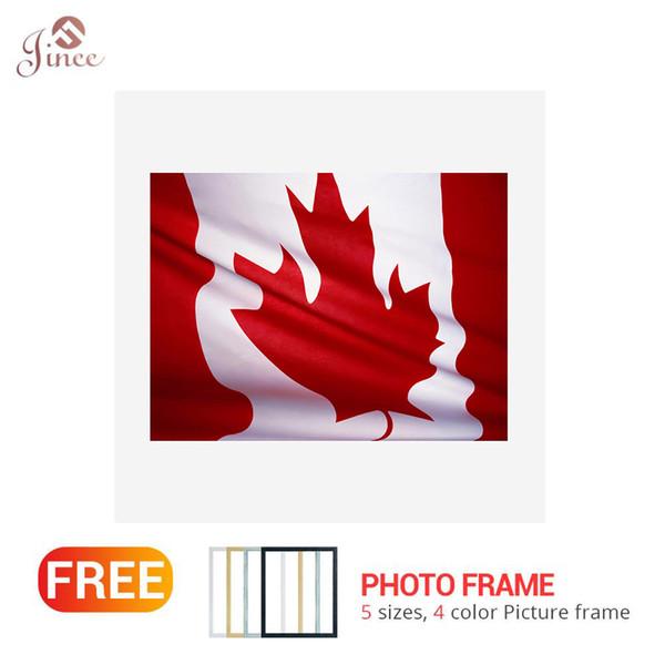 5D DIY Алмазная Живопись, Ремесло, Вышивка Крестом, Канадский Флаг, Квадратный Алмаз Вышивка Продажа Картин Украшения Дома