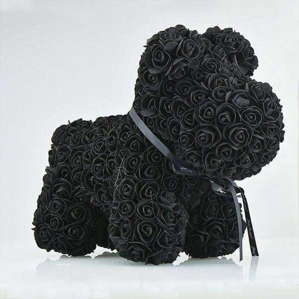42cm siyah köpek