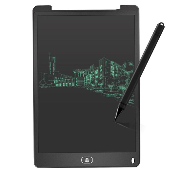 12 inch LCD Writing Tablet Touch Pad Office Electronic Board Magnetic Fridge Message Stylus Kids Birthday Christmas Day Gifts dhl STY146