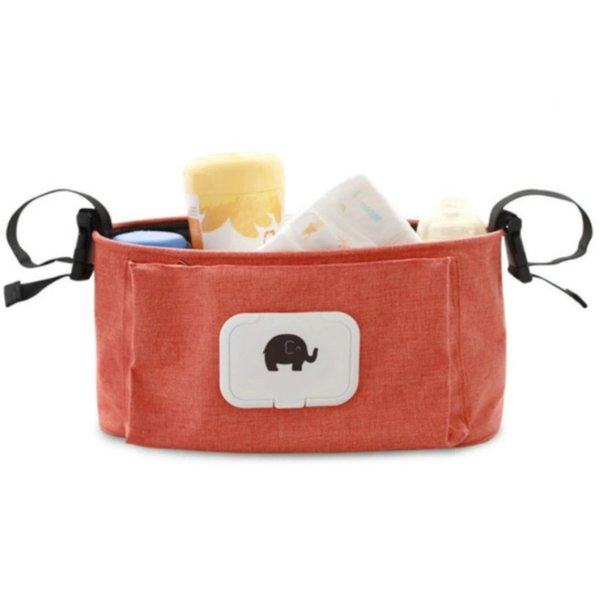 Путешествия висит сумка коляска многофункциональный мультфильм слон путешествия подгузник сумка