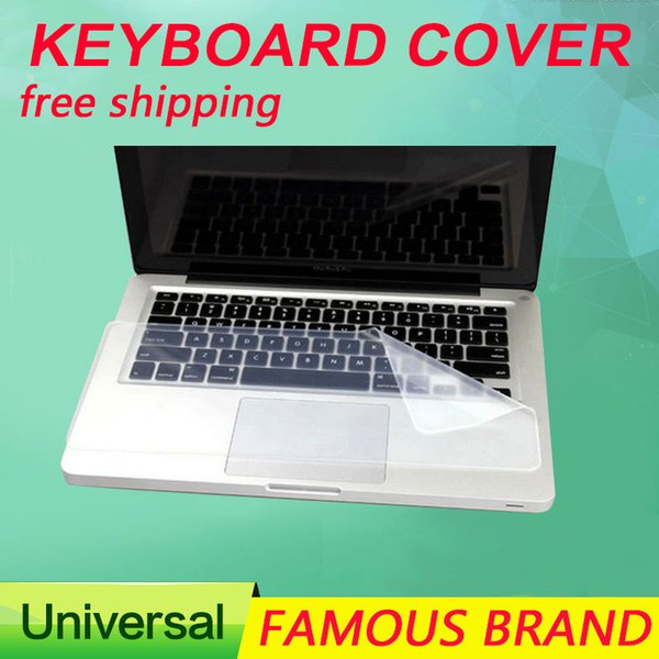 Universal Laptop notebook cover Keyboard Skin dustproof film silicone Protector 1 piece generic for 14 inch and 15 inch