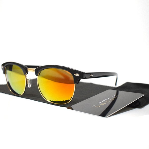Lenses Color:B-black-orange
