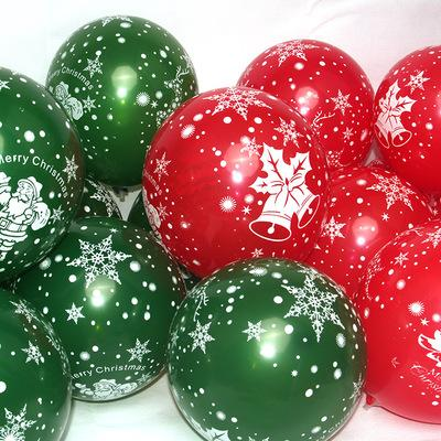 Modelli di esplosione! Christmas Decoration Birthday Party Giocattoli per bambini Multicolor Snowflake Balloons Latex Balloons Pink Purple Wedding Deco