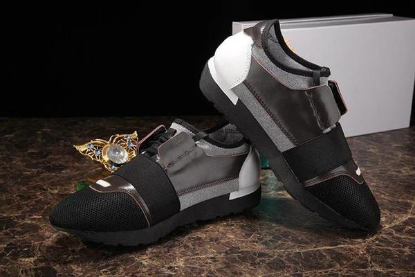 Novo designer de marca homem sapatos casuais todo preto 2019 moda primavera outono lace up homem sapatos de malha ar homem apartamentos sapatos mais 35-46