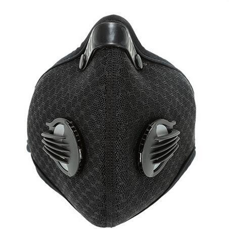 Pm2.5 Cycling Face Mask Carbon Filter Pollution Bike Bicycle Masks Neoprene/nylon Outdoor Sport Running Ski Anti Dust Smog Mask