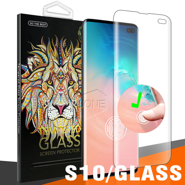 Pour Samsung Galaxy S10 Plus S10E doux TPU tactile empreinte digitale doigt d'identification ID Film de protection Film Full Cover Screen