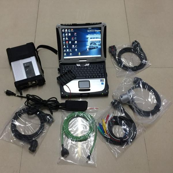 Neueste Software V2019.05 Vediamo DTS X-Enntry mit CF19 Laptop Diagnose Compact Mb Star C5 für PKW / LKW zur Unterstützung der Codierung