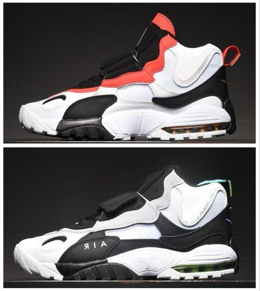 2019 En kaliteli hız Hız Çim erkek koşu ayakkabı yastık beyaz siyah kırmızı açık ayakkabı ücretsiz gemi Sneakers EUR