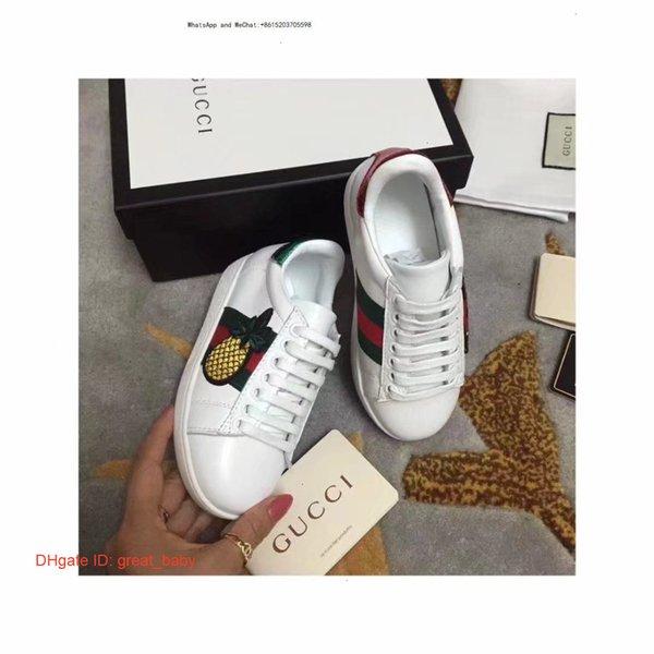 Designer Luxus Kinderschuhe Unisex Exquisite Kleine Weiße Mode Schuhe Herbst Neue Muster Koreanische Ausgabe Hohe Hilfe Mädchen Casual 0999