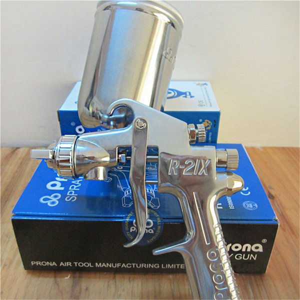 free shipping,Prona R-21X professional car paint spray gun,sunction and gravity feedtype tp choose,1.3 1.5 2.0 2.5mm nozzle,R21
